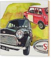 Morris Mini Cooper S Wood Print