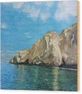 Morro Ballena North Of Chile Wood Print