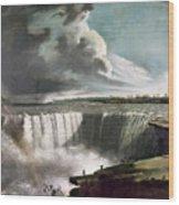Morse: Niagara Falls, 1835 Wood Print