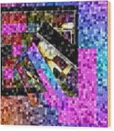Mosaic #106 Wood Print