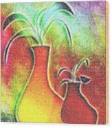 Mosaic  #134 Wood Print