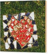 Mosaic 2 Wood Print