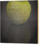 Mosaic Apple Wood Print