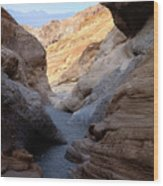 Mosaic Canyon Wood Print