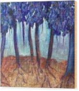 Mosaic Daydreams Wood Print