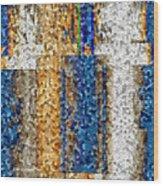 Mosaic Magic Wood Print