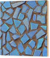 Mosaic No. 31-1 Wood Print