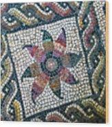 Mosaico Pavimentale Wood Print
