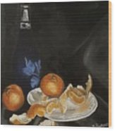 Moscato And Tangerines Wood Print