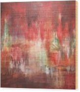 Abstract Moscow Wood Print