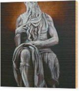 Moses Wood Print by Grant Kosh