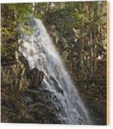Mosher Hill Falls Wood Print