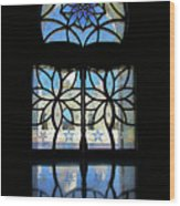 Mosque Foyer Window 2 Wood Print