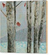 Mosquito Creek Wood Print