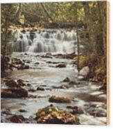 Mosquito Falls Wood Print
