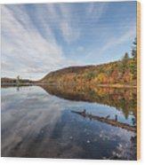 Moss Lake Wood Print