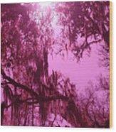 Mossy Splendor Wood Print