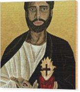 Most Sacred Heart Of Jesus Wood Print