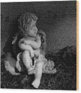 Most Sweet Resting Child Wood Print