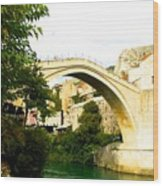 Mostar, Bosnia Wood Print
