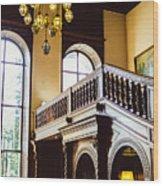 Moszna Interior Wood Print