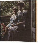 Mother And Child. Johannes Hendrikus Antonius Maria Lutz, 1907 - 1916 Wood Print