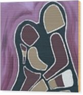 Mother And Me Wood Print