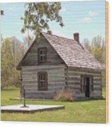Mother Barnes House Wood Print