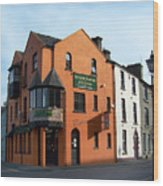 Mother India Restaurant Athlone Ireland Wood Print