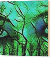 Mother Nature Wood Print