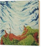 Mother Nature Wood Print by Pralhad Gurung