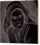 Mother Of Christ Wood Print