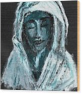 Mother Of Sorrows Wood Print