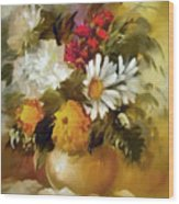 Mother's Bouquet I Wood Print