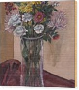 Mother's Day Bouquet Wood Print by Elizabeth Lane