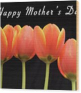 Mothers Day Card 2 Wood Print