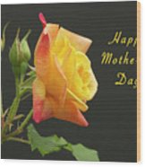 Mothers Day Card 4 Wood Print