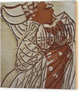 Mothers Glow - Tile Wood Print