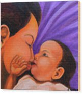 Mother's Love Wood Print