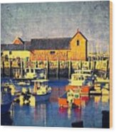 Motif No. 1 - Sunset Digital Art Oil Print Wood Print