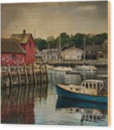 Motif Number One Wood Print by Robin-Lee Vieira