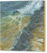 Motion Of The Ocean Wood Print