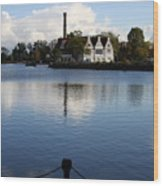 Motlawa River Gdansk Wood Print