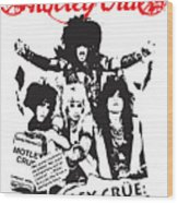 Motley Crue No.01 Wood Print