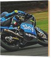 Moto Grand Prix Wood Print