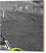 Motocross Slingshot Wood Print