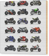 Motorcycle Concepts 2017-2018 Wood Print
