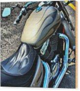 Motorcycle Shadow Sabre 2 Wood Print
