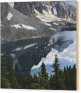 Mount Assiniboine Canada 13 Wood Print