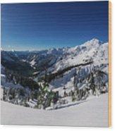 Mount Baker 2 Wood Print